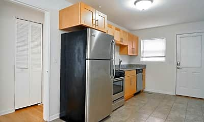 Kitchen, Elmcrest Apartments, 0