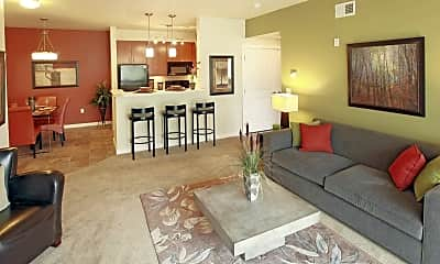 Living Room, Island View Apartments, 0