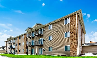Building, Brick View Apartments, 0