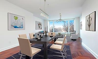 Dining Room, 240 Riverside Blvd 4-A, 1