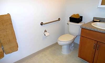 Bathroom, Anwelt Heritage Apartments - Senior Living 55+, 2