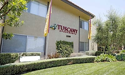 Building, Tuscany Apartments, 0