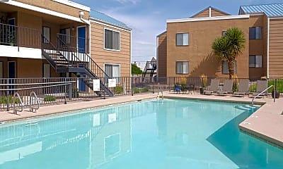 Pool, Villa Serena Apartments, 1