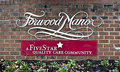 Community Signage, Forwood Manor, 2