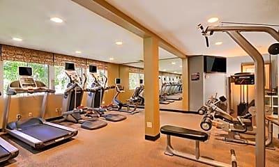 Fitness Weight Room, Rising Glen, 1