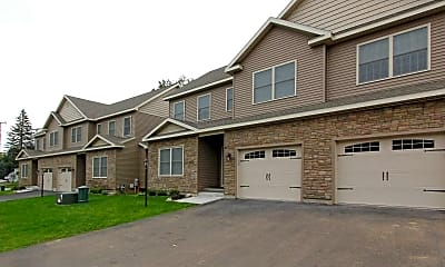 Building, Schoolhouse Luxury Townhomes, 1