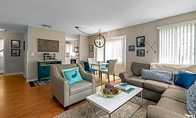 Living Room, 44 Pleasant St 18, 1