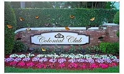 Community Signage, 22 Colonial Club Dr 301, 2