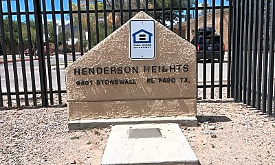 Henderson Heights, 1