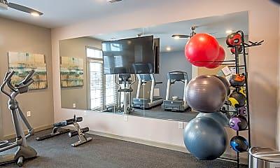 Fitness Weight Room, Bramblett Hills, 2