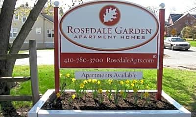Community Signage, Rosedale Gardens, 0