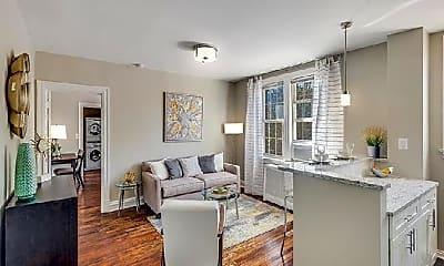 Living Room, 2147 O St NW, 2