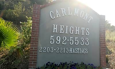 Carlmont Heights, 1