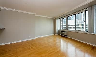 Living Room, 211 E Ohio St 2402, 1