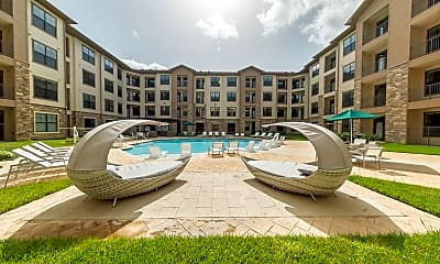 Pool, Haven at Liberty Hills, 2