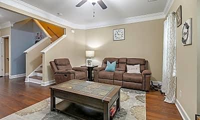Living Room, 8210 Lenox Creekside Dr, 1