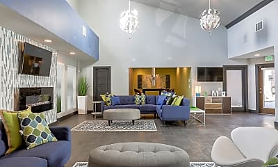 Living Room, The Modern Apartments, 1