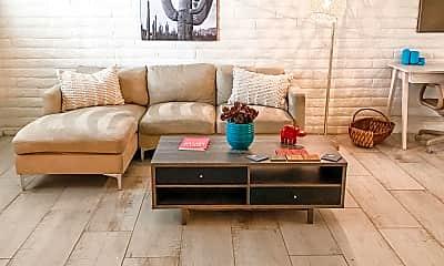 Living Room, 7318 E Mariposa Dr 4, 2