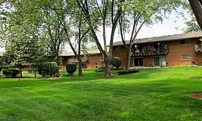 Building, Glen Ellyn Apartment Homes, 2