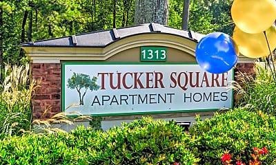 Community Signage, Tucker Square, 2