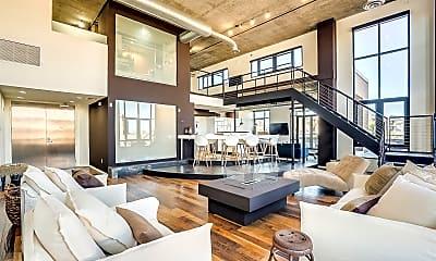 Living Room, 7301 E 3rd Ave 411, 0