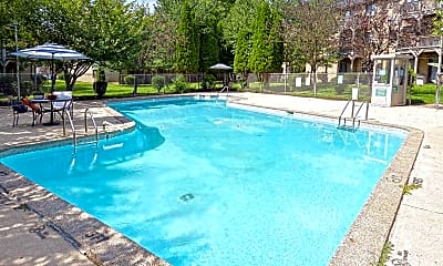 Pool, Hillcrest Oaks, 1