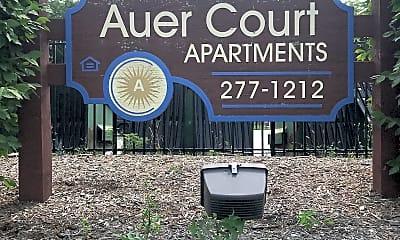 Auer Court Apt, 1