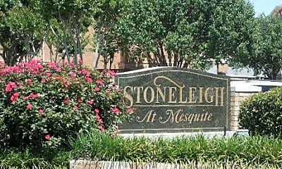 Community Signage, Stoneleigh at Mesquite, 1