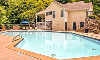 Pool, Willeo Creek Apartments, 0