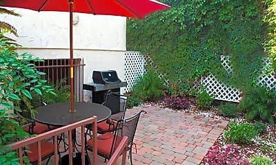 Patio / Deck, Promenade Apartments, 1