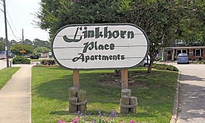 Community Signage, Linkhorn Place, 2