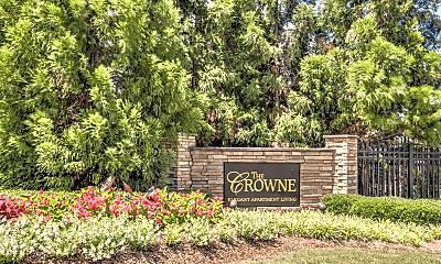 Community Signage, Crowne on 10th, 1