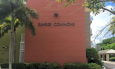 Sunrise Commons, 1