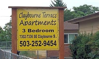 Claybourne Terrace, 1
