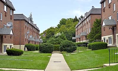Building, Oakwood Apartments, 0