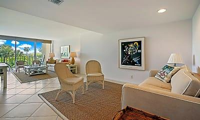 Living Room, 1801 S Flagler Dr 308, 0