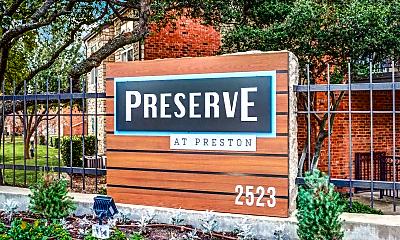 Community Signage, Preserve At Preston, 2