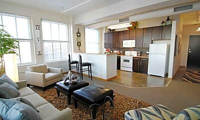 Living Room, Grand Boulevard Lofts, 0