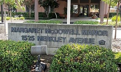 Margaret McDowell Manor, 1