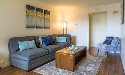 Living Room, 5421 E 42nd Ave, 0