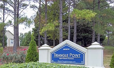 Community Signage, Mission Triangle Point, 2