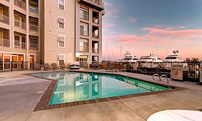 Pool, East Beach Marina Apartments, 0