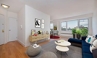 Living Room, 60 W 142nd St 2-M, 1