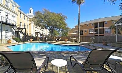 Pool, The Park at Cedar Lawn Apartments, 0