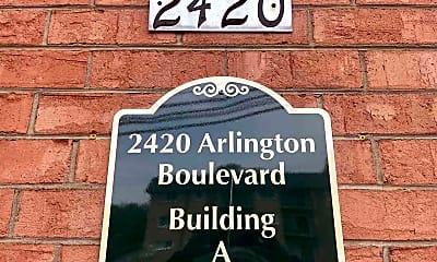 Community Signage, 2420 Arlington Blvd A2, 0
