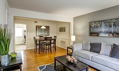 Living Room, Foxchase Brandywine, 1