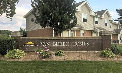 Van Buren Homes, 1