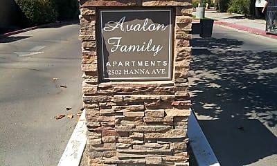 Avalon Family Apartments, 1