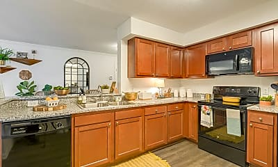 Kitchen, Tremont at 22 Apartments, 1