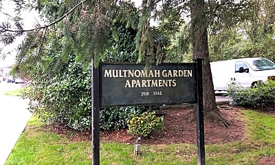Multnomah Garden Apartments, 1